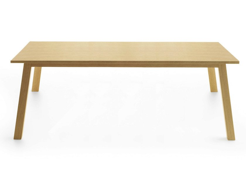 Rectangular wooden table OXTON 240 by Crassevig