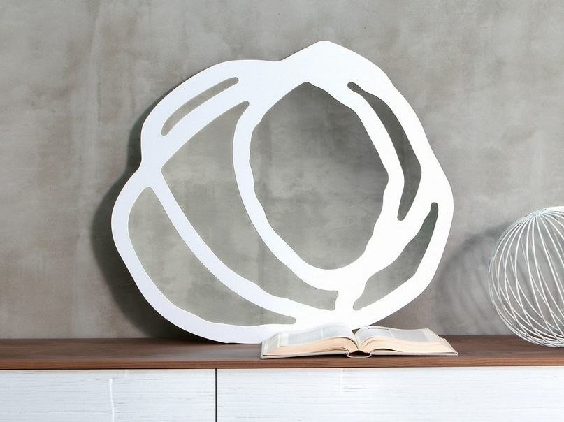 Round mirror SWEET 98 by Gervasoni