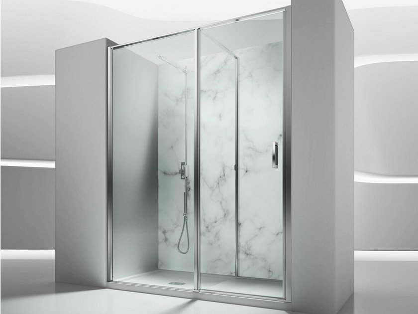Niche tempered glass shower cabin IN 1 by VISMARAVETRO