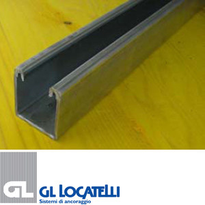 Steel Fixing and support system for plant & machinery K1 PROFILE by AdermaLocatelli