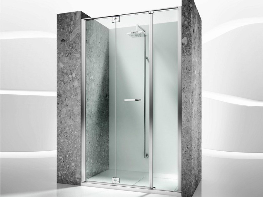 Niche tempered glass shower cabin REPLAY RM by VISMARAVETRO