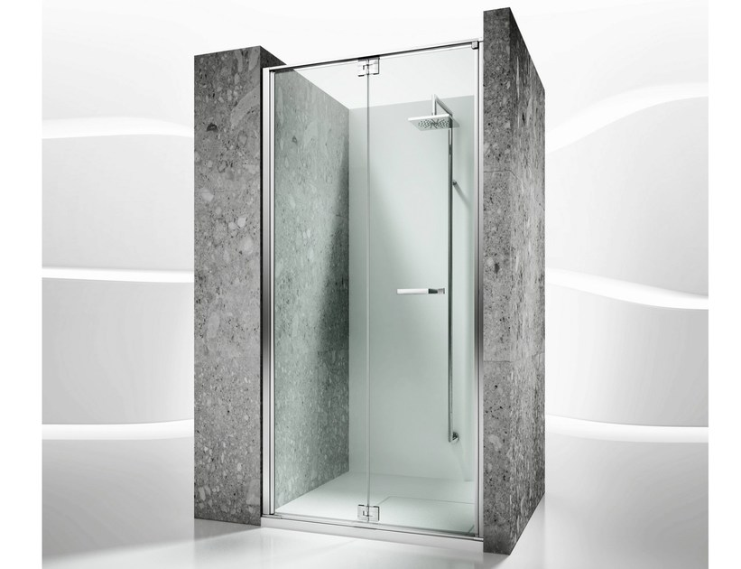 Niche custom tempered glass shower cabin REPLAY RN by VISMARAVETRO