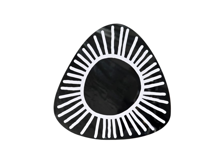 Wall-mounted mirror BRICK 98 by Gervasoni