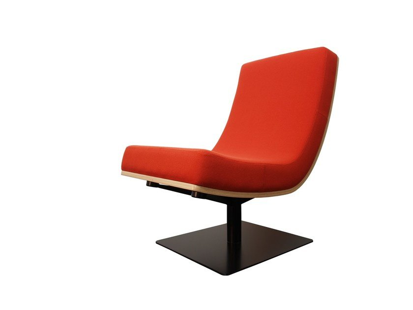 Upholstered easy chair TYPOGRAPHIA I by TABISSO