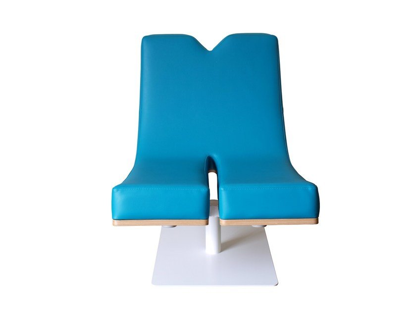 Upholstered easy chair TYPOGRAPHIA M by TABISSO