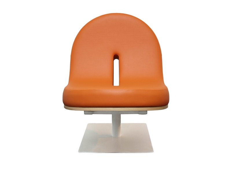 Upholstered easy chair TYPOGRAPHIA O by TABISSO