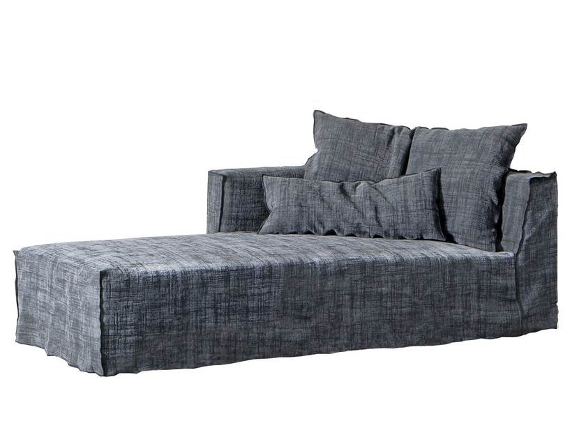 Fabric day bed BRICK 20 by Gervasoni