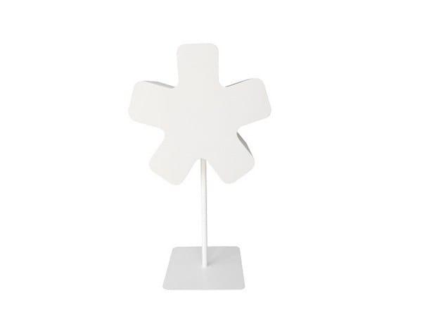 Fabric floor lamp TYPOGRAPHIA STAR by TABISSO