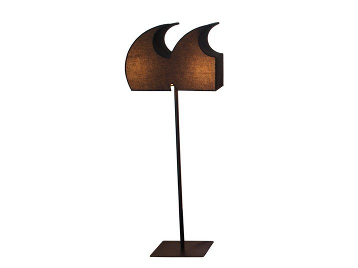 "Floorstanding Light letter TYPOGRAPHIA QUOTATION "" by TABISSO"