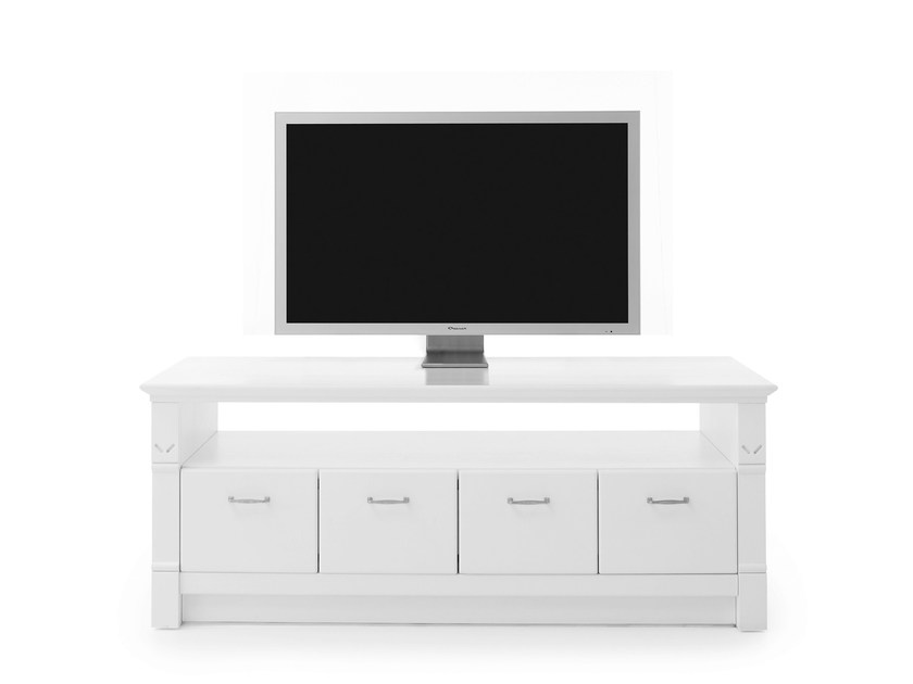 Solid wood TV cabinet ENGLISH MOOD | TV cabinet by Minacciolo