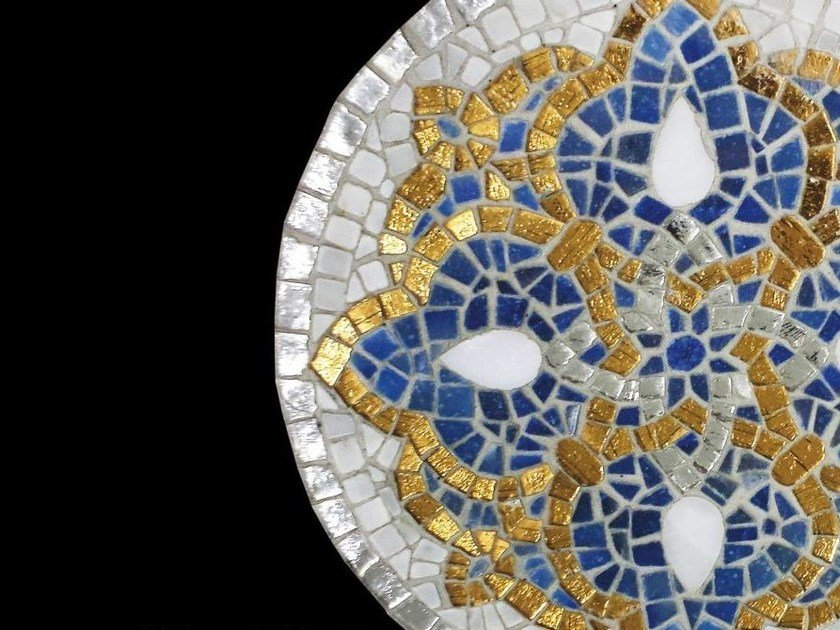 Glass Mosaic BRECCI GOLD MOSAICS by Brecci Glass