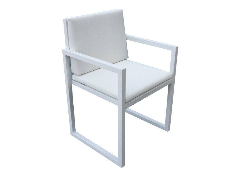 Sled base chair with armrests BRAZILIA | Chair with armrests by Sérénité Luxury Monaco