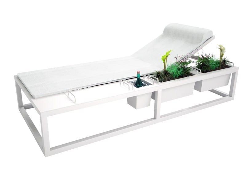 Recliner Batyline® garden daybed BRAZILIA | Garden daybed by Sérénité Luxury Monaco