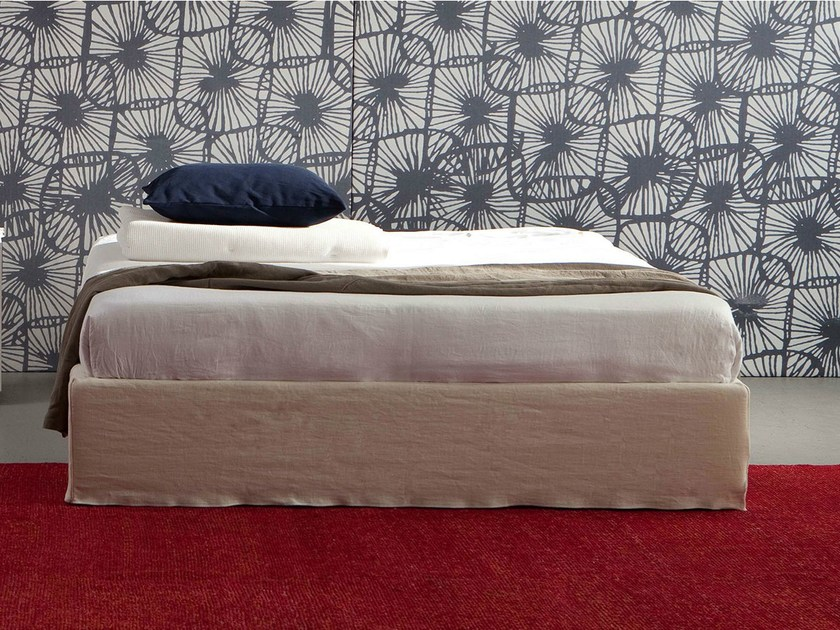 Bed with removable cover SOMMIER PLUS by Letti&Co.