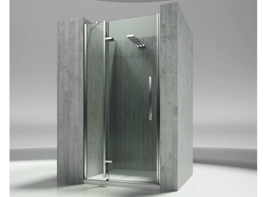 Niche custom tempered glass shower cabin TIQUADRO QN by VISMARAVETRO