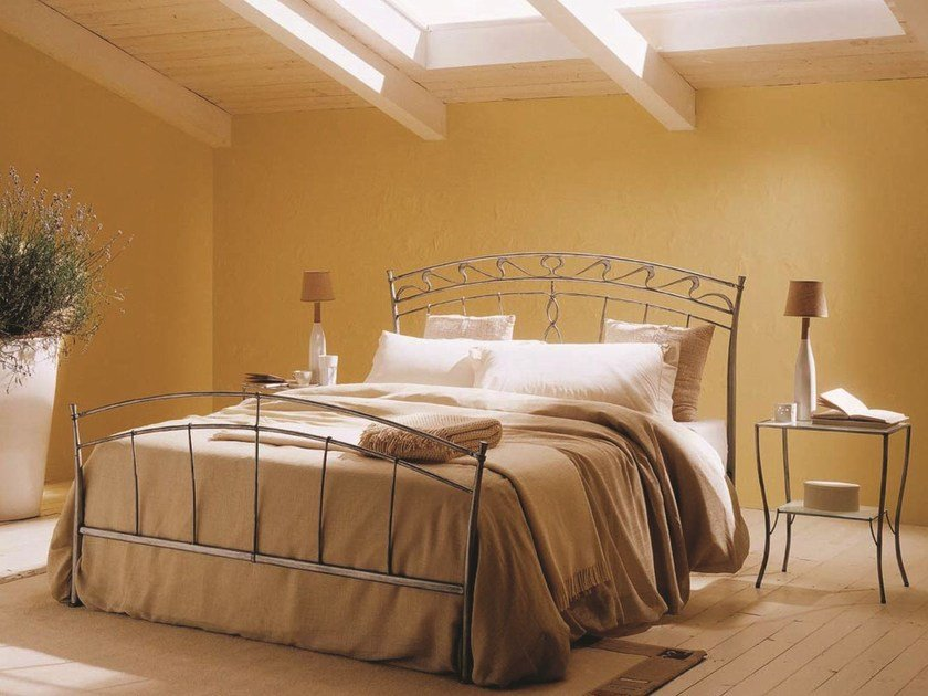 Iron double bed DORA | Double bed by Bontempi
