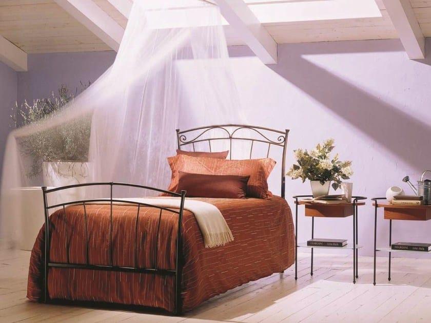 Iron single bed DORA | Single bed by Bontempi