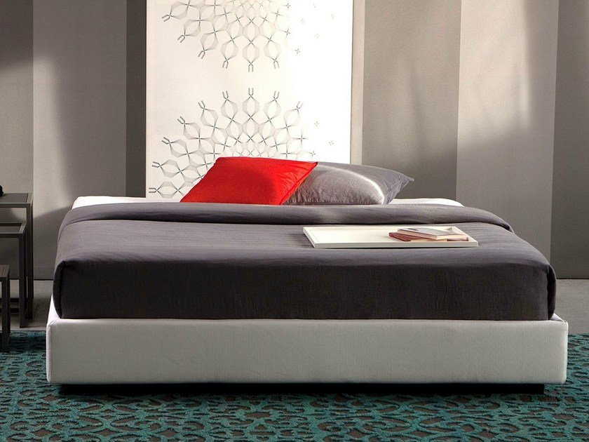 Double bed with removable cover SOMMIER STANDARD by Letti&Co.