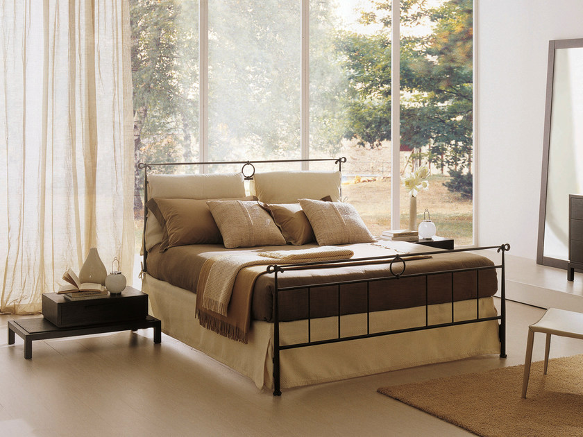 Iron bed DYLAN   Double bed by Bontempi