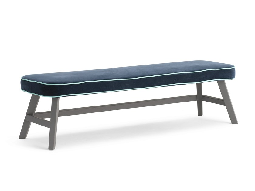Walnut bench LC 17 by Letti&Co.
