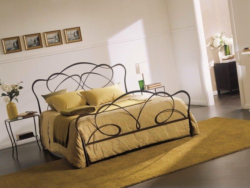 Iron double bed FANTASY by Bontempi