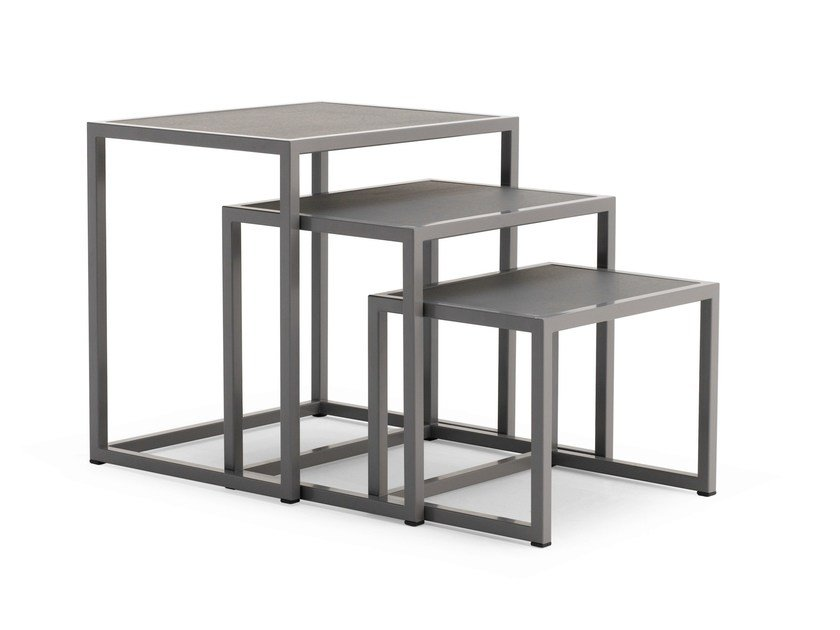Stackable coffee table LC 40 by Letti&Co.