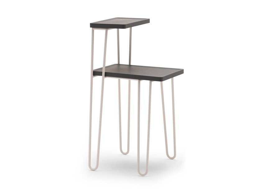 Steel bedside table LC 48 by Letti&Co.