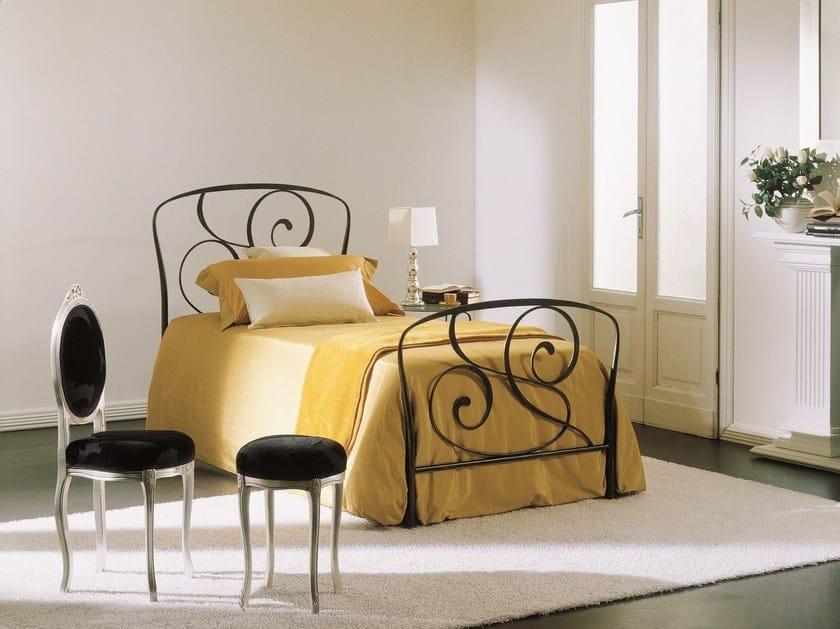 Iron single bed GENZIANA by Bontempi