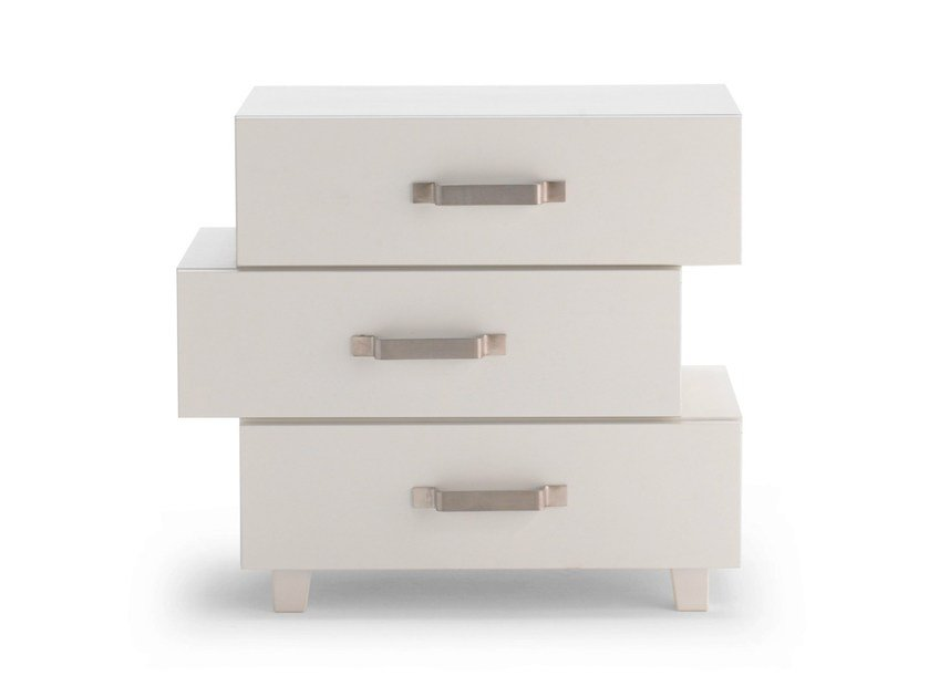 Bedside table with drawers LC 51 by Letti&Co.
