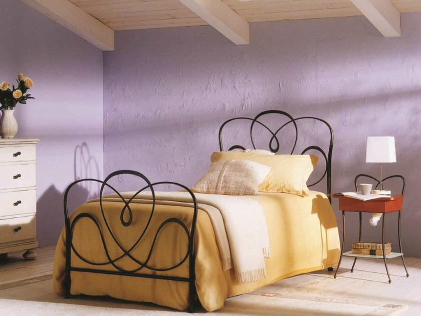Classic style iron single bed MIRTO by Bontempi