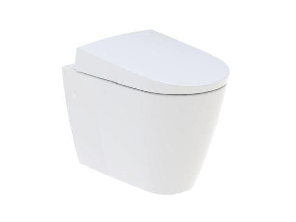 Ceramic toilet with bidet AquaClean Sela by Geberit Italia