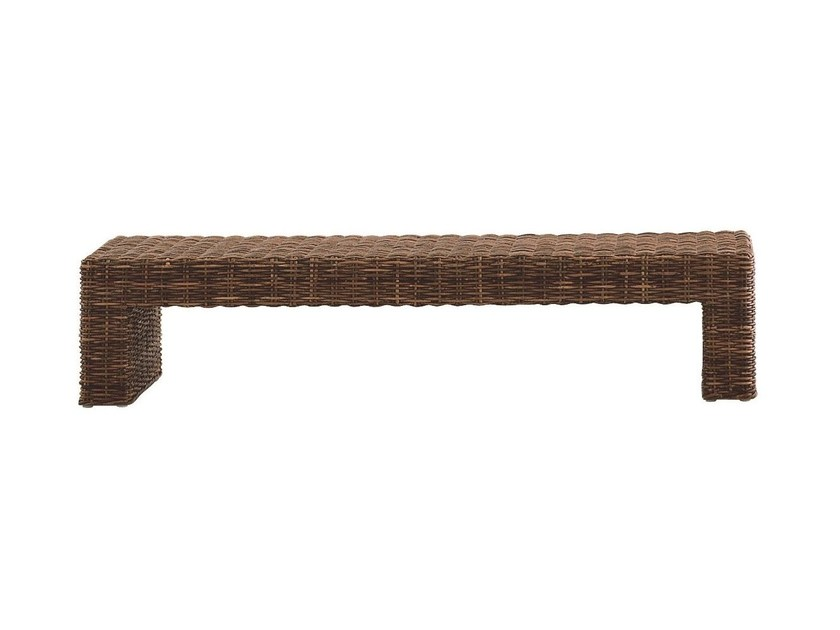 Low rectangular coffee table CROCO 12 by Gervasoni