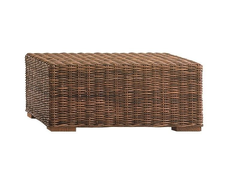 Low Square garden side table CROCO 14 by Gervasoni