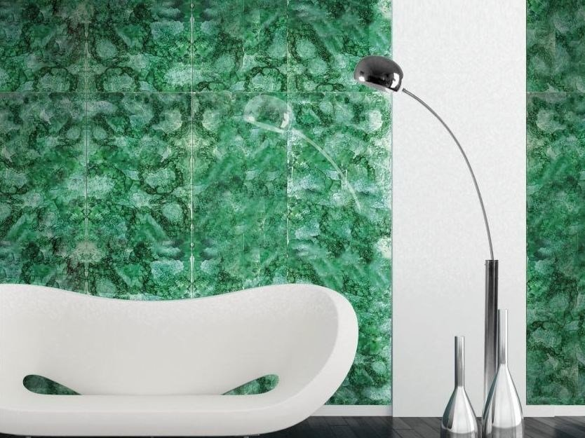 Indoor glass wall/floor tiles PRIVILEGE PANEL by Brecci Glass