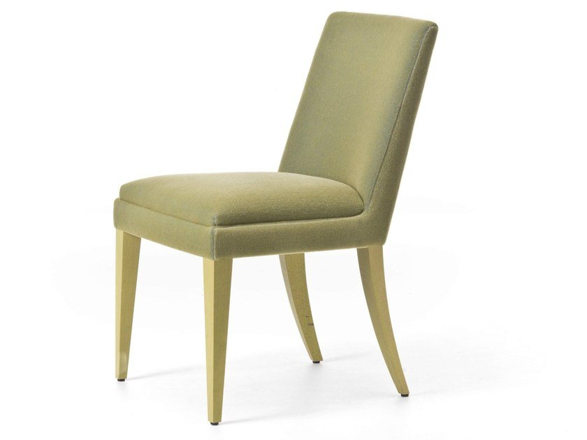 Upholstered fabric chair ONDA 01 / 101 by Very Wood