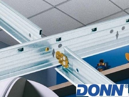 Frame and accessory for suspended ceiling DONN by Knauf Amf