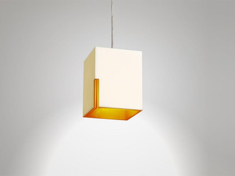 PMMA pendant lamp MINI PIO by Orbit