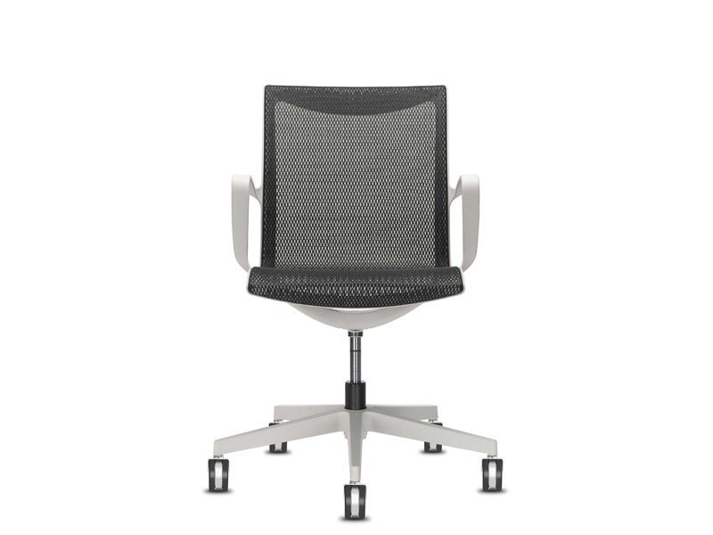 Task chair with 5-Spoke base with armrests SOUL AIR | Task chair by SitLand