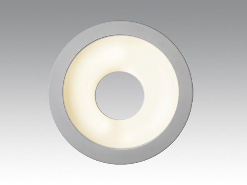 Fluorescent wall lamp SHUTLLE WALL by Orbit