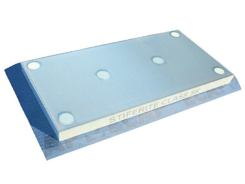 Expanded polyurethane thermal insulation panel ECAP® Stif by EDILTECO