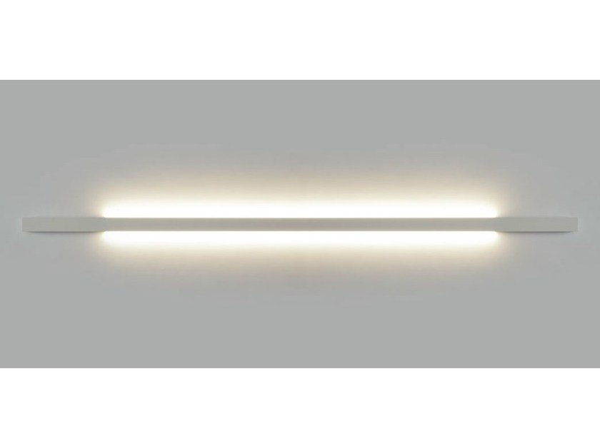 Indirect light wall lamp F-LED INSIDE by Orbit