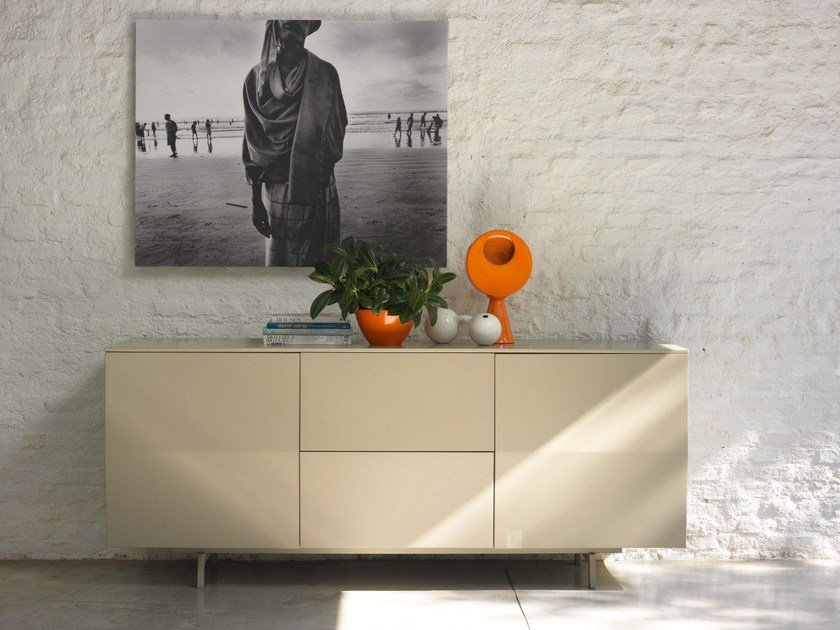 Wooden sideboard AMSTERDAM by Bontempi