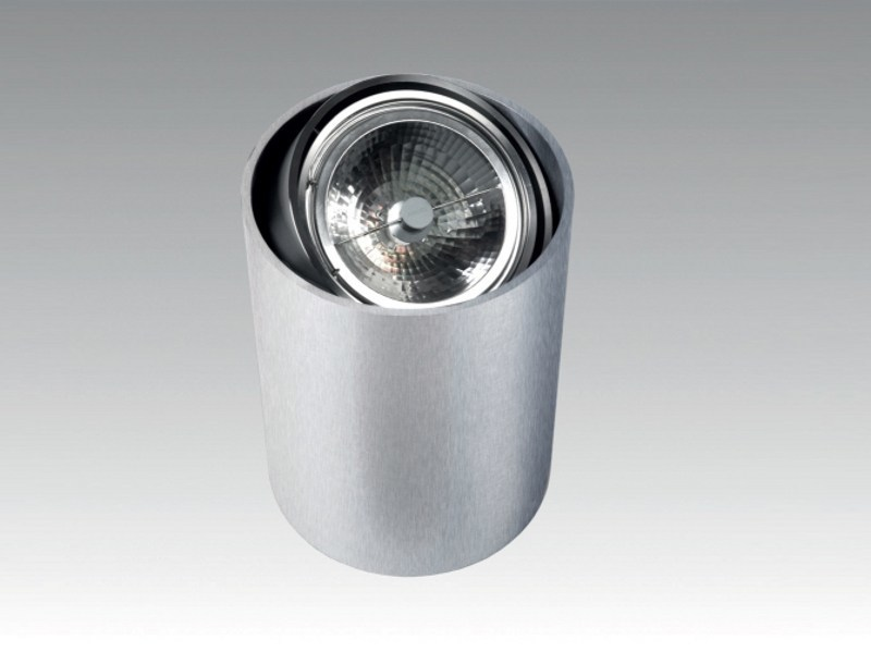 Aluminium floor lamp STEAMER FLOOR by Orbit