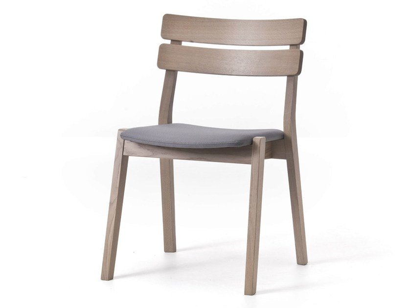 Stackable open back wooden chair FRAME  11 by Very Wood