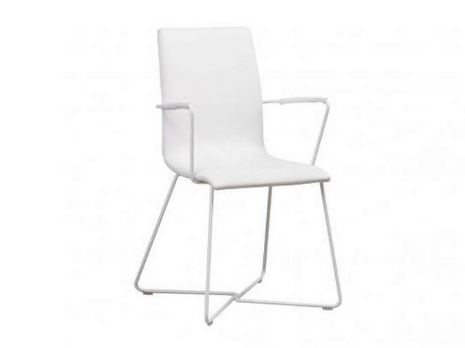 Fabric chair with armrests CAYENNE | Chair with armrests by GAUTIER FRANCE
