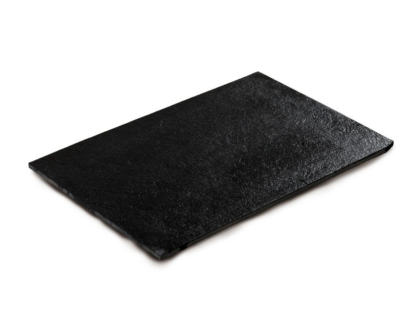 Calcareous stone outdoor floor tiles NERO ASSOLUTO | Outdoor floor tiles by GRANULATI ZANDOBBIO