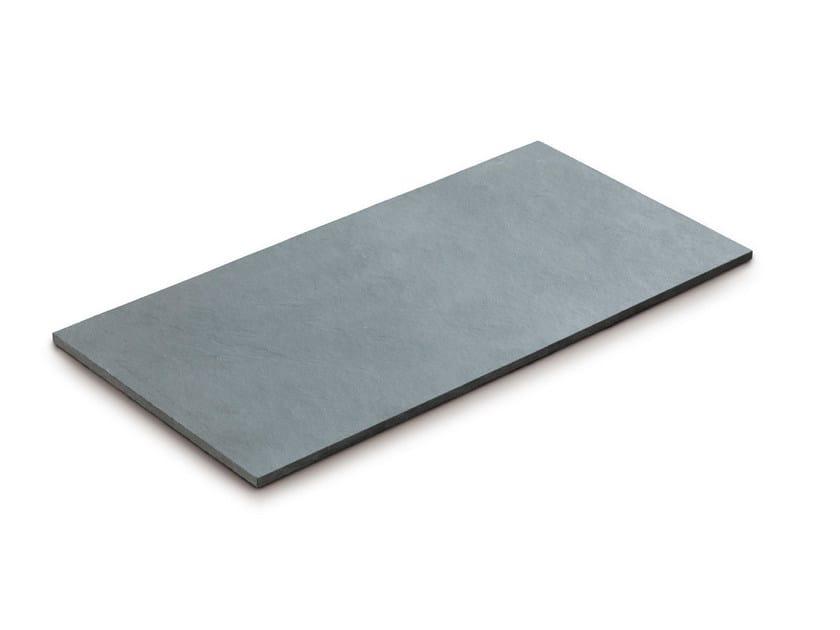 Slate outdoor floor tiles GRIGIA by GRANULATI ZANDOBBIO