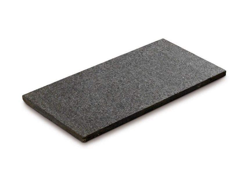 Natural stone outdoor floor tiles BASALTO by GRANULATI ZANDOBBIO