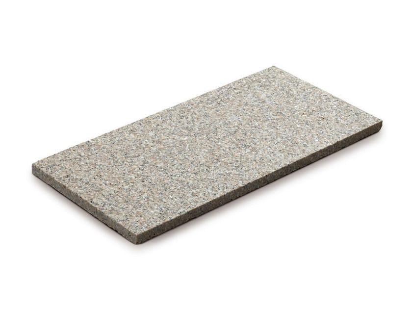 Granite outdoor floor tiles GRANITO ROSA by GRANULATI ZANDOBBIO