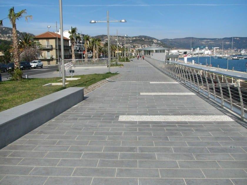 Granite outdoor floor tiles DIORITE by GRANULATI ZANDOBBIO